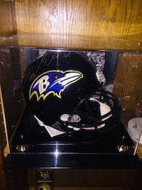 Autographed Life size Ravens helmet in case  Hampstead, 21074