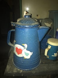blue and white ceramic beer stein Knoxville, 37922