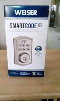 Kwikset Smart Watch box with remote Surrey, V4N 2T3
