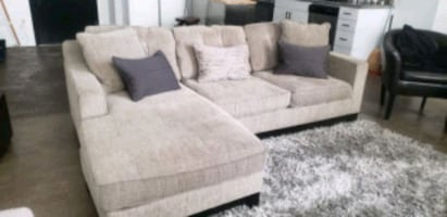 Tan/Grey sectional purchased at Macy's