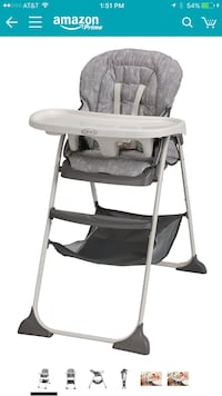 baby's gray and white Graco highchair Henderson, 89052