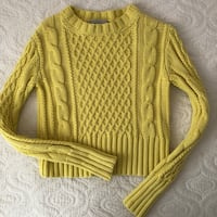 Acne Studios knit sweater yellow Markham, L3P 4J5