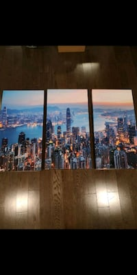 Hong Kong scene Wall Art