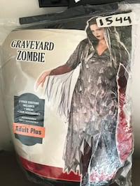 Brand new plus size zombie costume Whitby, L1M 1H5