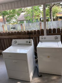 white washer and dryer set Dothan, 36305