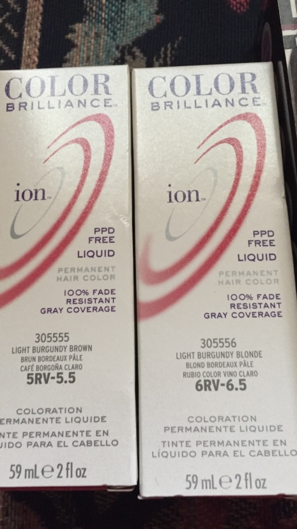 Used Color Brilliance Ion Permanent Hair Color 59ml For Sale In