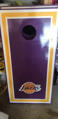 Lakers custom cornhole boards Frederick, 21702