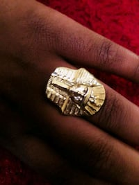 silver and diamond embellished ring Rochester, 14615