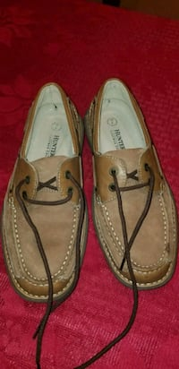 pair of brown leather loafers Elkridge, 21075