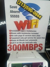 Internet Modem wifi Los Angeles