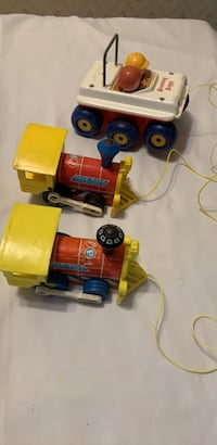 3 Vintage Fisher Price Pull Toys