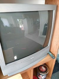 gray SANYO TV with remote San Diego, 92102