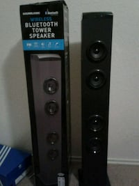 black and gray multimedia speaker Killeen, 76543