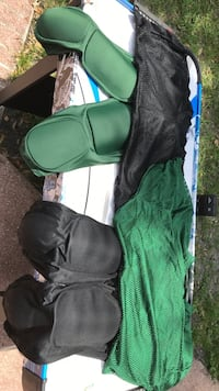 Football gear, to training jerseys and two pairs of training pants with pads. Pants are a size large training jerseys are size medium. Perfect condition Largo, 33778