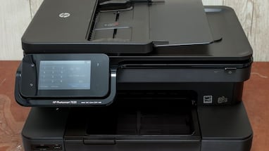 HP photosmart wireless color all in one printer, copier, scanner