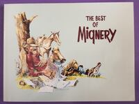 """The Best of Mignery, used 1st. Edition, 3rd. Printing. 9"""" x 12"""". Phoenix, 85083"""