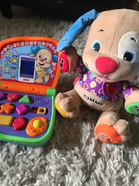 Fisher price talking and singing dog and smart computer Nashville, 37013