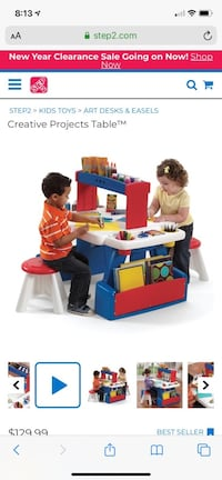 Creative projects Table Step 2 children's desk Wayne, 07470