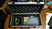 Fishing rod real and tackel all in a case ready to Stratford, N5A 4V9