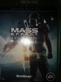 Xbox one Mass Effect Andromeda game case