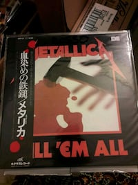 Metallica ‎– Kill 'Em All vinile LP Pianiga, 30030