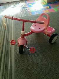 toddler's pink and red Radio Flyer trike Falls Church, 22042