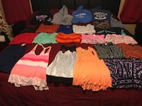Women's lot! Size large~hoodies,shirts,T-shirt's $20 for ALL Oklahoma City, 73099