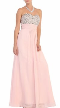 Gorgeous beaded strapless gown Keswick, L4P 3P2