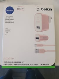 Pretty In Pink Home And Car Charger