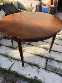Round/oval table real wood 741 mi
