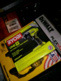 black and yellow DEWALT battery pack 24 km