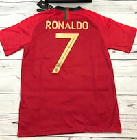 Portugal Ronaldo CR7 Home soccer jersey  Knoxville, 37918