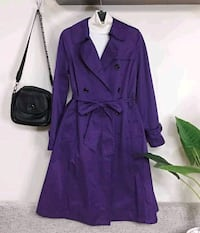 Dress Coat Purple