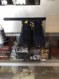 Retro 12 Michigan's size 8 ds brand new  Woodbridge, 22191