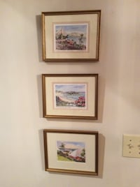 Pictures - three Bermuda framed pictures  Gettysburg, 17325