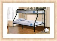 Twin over Full Bunkbed New with Mattress  Elkridge, 21075