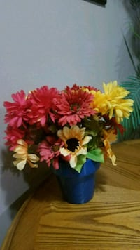 "12"" tall colorful fall arrangement Youngstown, 44515"