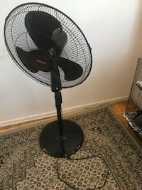 NOMA Pedestal Fan with Timer, 18-in TORONTO