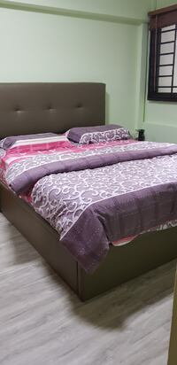 Brand new queen size bedframe SINGAPORE