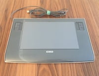 Wacom Intuos3 9x12 inch  USB Tablet - Metallic Gray Arlington, 22202