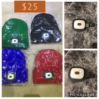 New LED toque or beanie Toronto, M6N 2R3