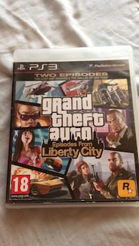 PS3 Grand Theft Auto Liberty City-saken Klokkarvik, 5378