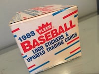 FLEER 1988 baseball stickers and trading cards! Willow Grove, 19090