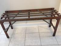 Vintage Beatty Bros. Tub Bench Waterdown