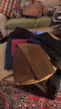 7 Pairs Of Size 12 Leather and Suede Pants Wilmington, 28409