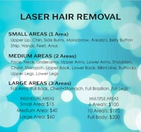laser hair removal & other esthetician services  Toronto, M9C