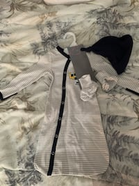 Brand New Sets of Baby Sleep Sack with Hat and Booties Vaughan, L4H 2C1