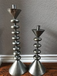 Rustic candle holders Plano