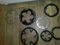 Chain rings brake discs seat post and more Vancouver, V5M 3W8