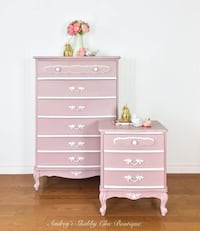 Adorable French Country Dresser Set Richmond Hill